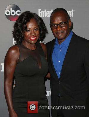 Viola Davis , Julius Tennon - ABC's TGIT premiere event - Arrivals - West Hollywood, California, United States - Saturday...