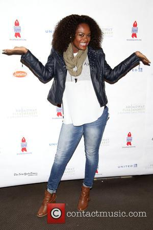 Shanice and Flea at Shubert Alley,