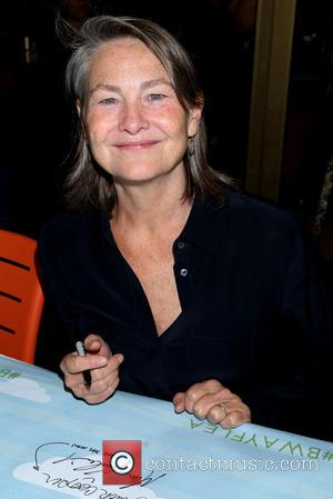 Cherry Jones - 2015 Broadway Cares/Equity Fights AIDS Flea Market held in Shubert Alley. at Shubert Alley, - New York...