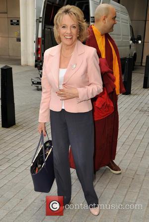 Esther Rantzen - Celebrities outside the BBC studios at BBC Radio 1 - London, United Kingdom - Sunday 27th September...