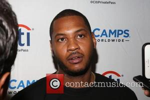 Carmelo Anthony - Citi Melo Youth Fantasy ProCamp presented by Alpina All-Stars Yogurt held at Baruch College - New York,...