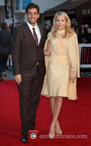 James Argent and Lydia Rose Bright at Vue West End