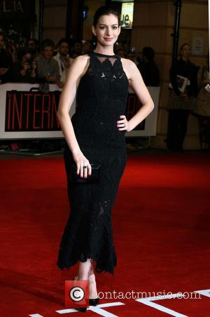 Anne Hathaway - European Premiere of 'The Intern' at the Vue West End, Leicester Square, London at Vue West End...