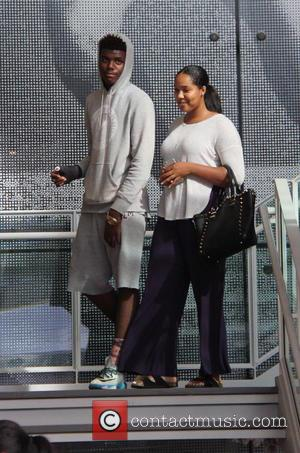 Shareef O\'Neal at the grove
