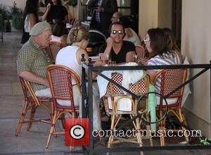 Stacy Keach - Stacy Keach goes out for lunch at Buchon in Beverly Hills at Beverly Hills - Los Angeles,...