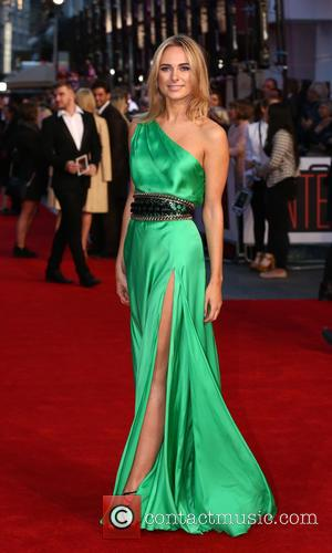 Kimberley Garner - 'The Intern' film premiere arrivals - London, United Kingdom - Sunday 27th September 2015