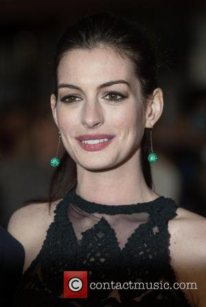 Anne Hathaway - The Intern - UK film premiere held at the Vue West End, arrivals. - London, United Kingdom...