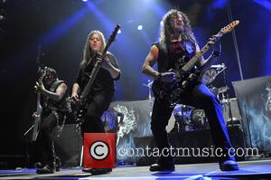 Queensryche, Michael Wilton, Eddie Jackson and Parker Lundgren