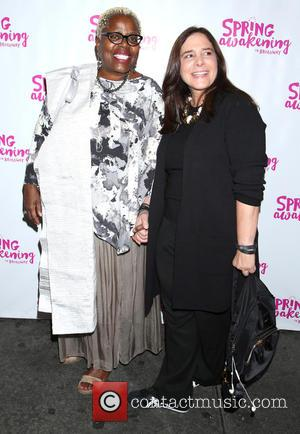 Lillias White , Dori Berinstein - Opening night for Spring Awakening at the Brooks Atkinson Theatre - Arrivals. at Brooks...
