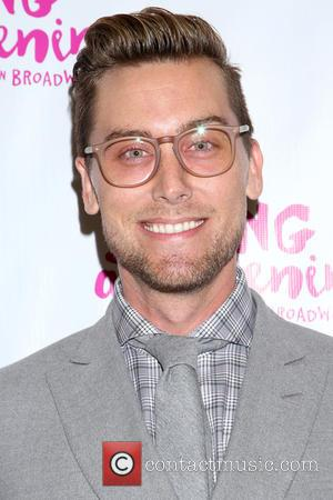 Lance Bass - Opening night for Spring Awakening at the Brooks Atkinson Theatre - Arrivals. at Brooks Atkinson Theatre, -...