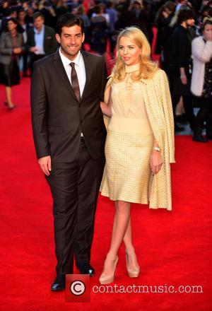 Lydia Bright , James Argent - European film premiere of 'The Intern' held at VUE West End - Arrivals at...