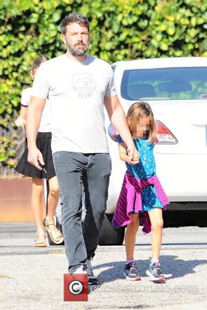 Ben Affleck , Seraphina Rose Affleck - Ben Affleck and his mother, Christine, take his two girls, Violet and Seraphina,...