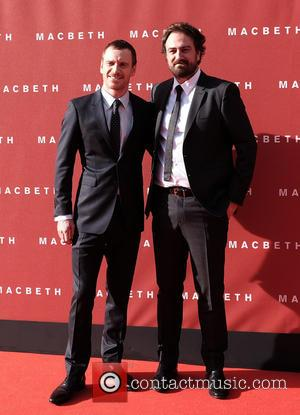 Michael Fassbender , Justin Kurzel - UK premiere of 'Macbeth' held at the Festival Theatre - Arrivals at Festival Theatre...