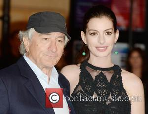 Robert DeNiro , Anne Hathaway - UK premiere of 'The Intern' held at Vue Leicester Square - Arrivals - London,...