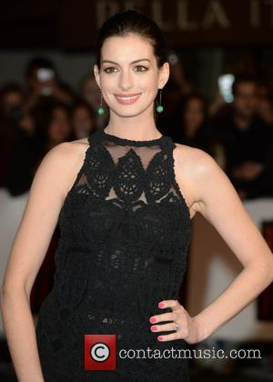 Anne Hathaway - UK premiere of 'The Intern' held at Vue Leicester Square - Arrivals - London, United Kingdom -...