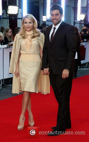 Lydia Bright , James Argent - Premiere of 'The Intern' held at Vue Leicester Square - Arrivals at The Vue,Leicester...