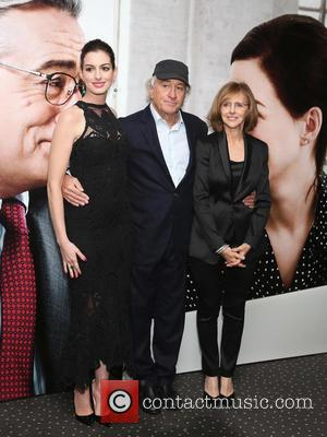 Anne Hathaway, Robert De Niro and Nancy Meyers