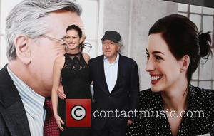Anne Hathaway , Robert de Niro - Premiere of 'The Intern' held at Vue Leicester Square - Arrivals at The...
