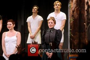 Krysta Rodriguez, Austin McKenzie, Andy Mientus , Marlee Matlin - Opening night for Spring Awakening at the Brooks Atkinson Theatre...