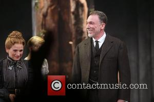 Marlee Matlin , Patrick Page - Opening night for Spring Awakening at the Brooks Atkinson Theatre - Curtain Call. at...