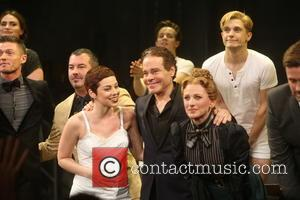 Spencer Liff, Duncan Sheik, Krysta Rodriguez, Steven Sater, Marlee Matlin and Andy Mientus