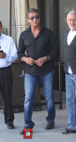 Sylvester Stallone - Sylvester Stallone has lunch at The Palm in Beverly Hills - Los Angeles, California, United States -...