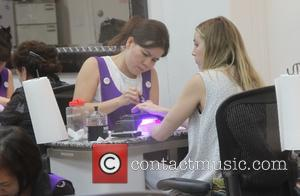 Whitney Port - Whitney Port gets a manicure at a salon in Beverly Hills - Los Angeles, California, United States...