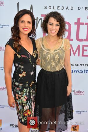 Soledad O'brien and Gaby Moreno