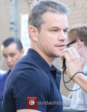 Matt Damon - Matt Damon arrives at Universal Studios Hollywood to appear on 'Jimmy Kimmel Live!' at JImmy Kimmel studio...