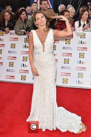 Danielle Lloyd - Pride of Britain Awards held at the Grosvenor House - Arrivals. at Grosvenor House - London, United...