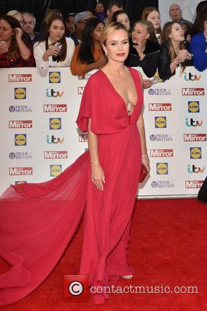 Amanda Holden - Pride of Britain Awards held at the Grosvenor House - Arrivals. at Grosvenor House - London, United...