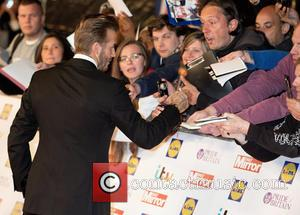 David Beckham - Pride of Britain Awards 2015  at the Grosvenor House Hotel - Arrivals at Grosvenor House Hotel,...