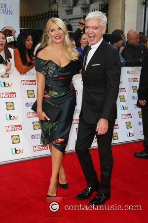 Holly Willoughby , Phillip Schofield - The Daily Mirror Pride of Britain Awards 2015 held at Grosvenor House Hotel at...