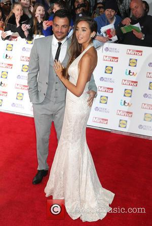 Peter Andre , Emily MacDonagh - Pride of Britain Awards 2015 Grosvenor House Hotel - Arrivals at Grosvenor House Hotel,...
