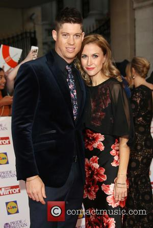 Katherine Kelly , Ryan Clark - The Daily Mirror Pride of Britain Awards 2015 held at Grosvenor House Hotel -...