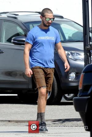 Shia LaBeouf - Shia LaBeouf spotted leaving Ultra Body Fitness on La Brea Avenue in Hollywood - Hollywood, California, United...