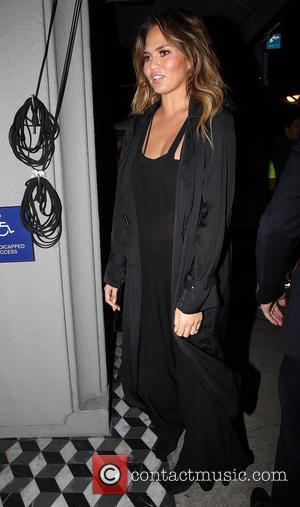 Chrissy Teigen - John Legend and Chrissy Teigen arrive at Craig's restaurant in West Hollywood - Los Angeles, California, United...