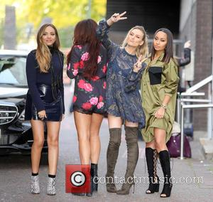 Little Mix, Jade Thirlwall, Perrie Edwards, Leigh-Anne Pinnock , Jesy Nelson - Little Mix outside ITV Studios today - London,...