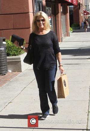 Mary Hart - Television host Mary Hart goes shopping in Beverly Hills - Los Angeles, California, United States - Tuesday...