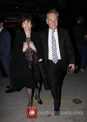 Jeffrey Archer - Press night of 'Pure Imagination: The Songs of Leslie Bricusse' at the St James Theatre - Outside...