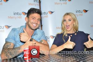 Stephanie Pratt and Jake Quickenden