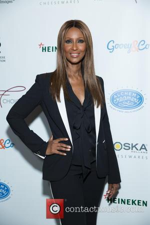 Iman - Frederique's Choice Launch Party at The McKittrick Hotel at The Mckittrick Hotel - New York, New York, United...