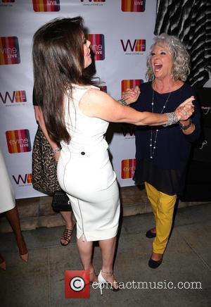 Lisa Vanderpump , Paula Deen - EVINE Live celebration at Villa Blanca at Villa Blanca - Beverly Hills, California, United...