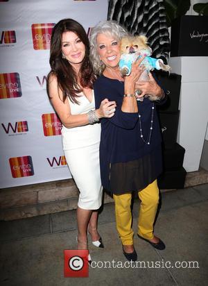 Lisa Vanderpump, Paula Deen , Giggy - EVINE Live celebration at Villa Blanca at Villa Blanca - Beverly Hills, California,...