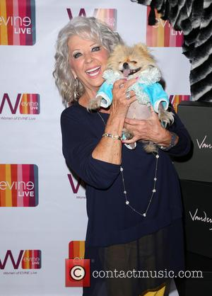 Paula Deen , Giggy - EVINE Live celebration at Villa Blanca at Villa Blanca - Beverly Hills, California, United States...