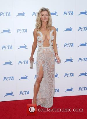 Joanna Krupa - PETA's 35th Anniversary Bash held at the Hollywood Palladium - Arrivals at Hollywood Palladium - Hollywood, California,...