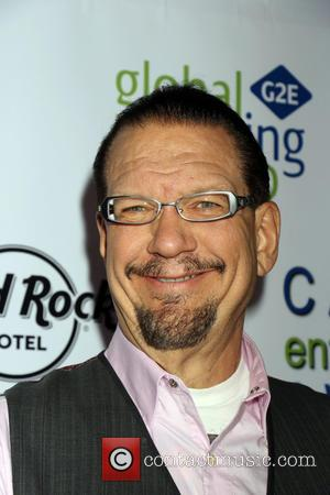 Penn Jillette - 3rd Annual Casino Entertainment Awards held at Vinyl  inside Hard Rock Hotel & Casino - Arrivals...