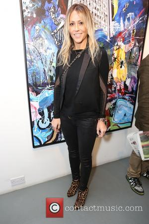 Nicole Appleton - Guests attend private view of Dan Baldwin's 'The Fear of Letting Go at Lawrence Alkin Gallery, New...