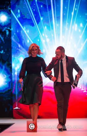 Denise Van Outen and Mark Heyes