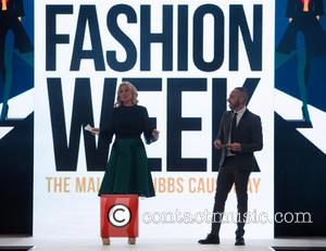 Denise Van Outen , Mark Heyes - Denise Van Outen comperes the opening show of Bristol Fashion Week at The...